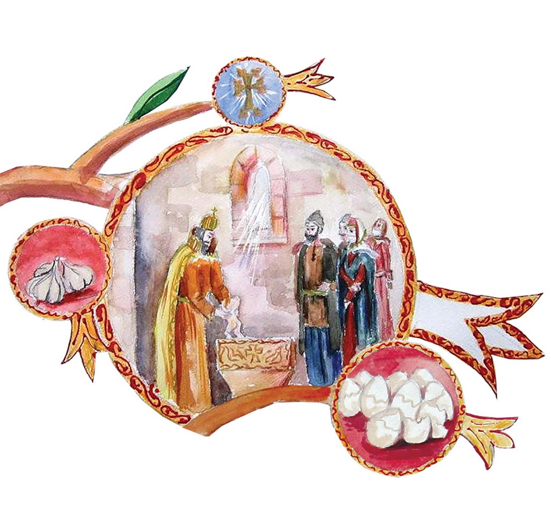 Картинка с армянским рождеством, открытки днем кадров